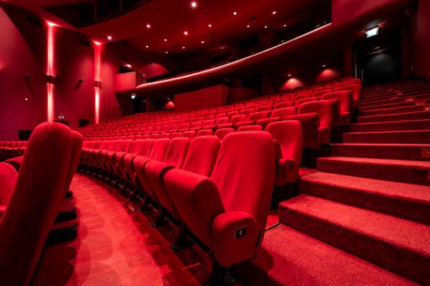 Rote Sitze im Theater – Foto