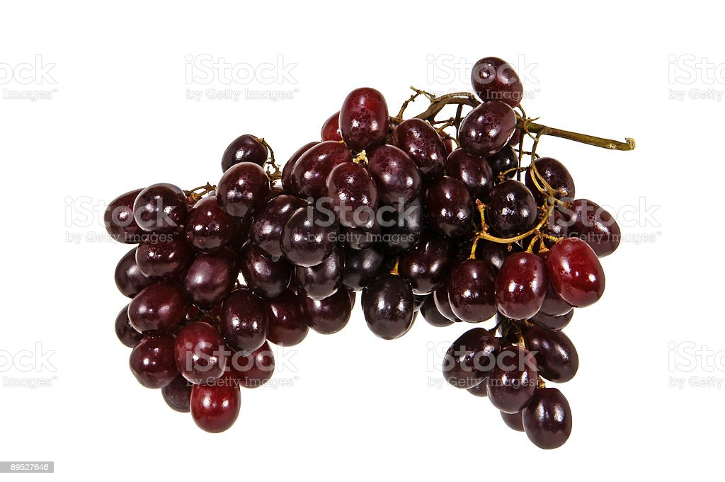 red seedless grapes royalty-free stock photo