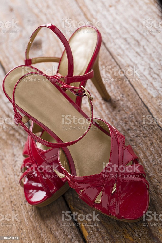 red shoe concept royalty-free stock photo