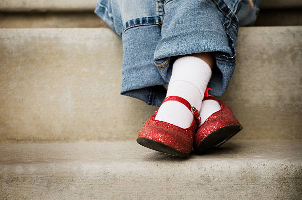Red Shoes stock photo
