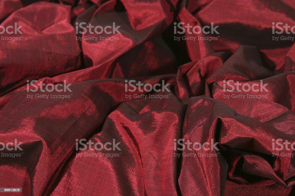 Red shot silk stock photo