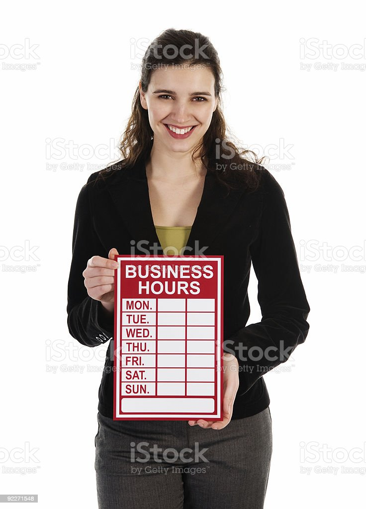 Red Signs royalty-free stock photo