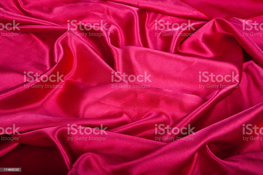 Red silk Background royalty-free stock photo