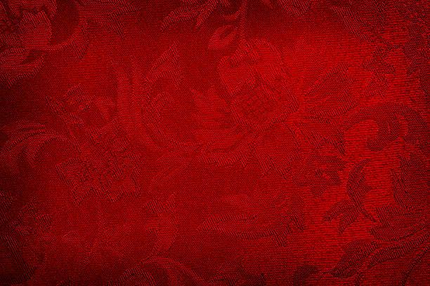 rote seide hintergrund - brokat stock-fotos und bilder