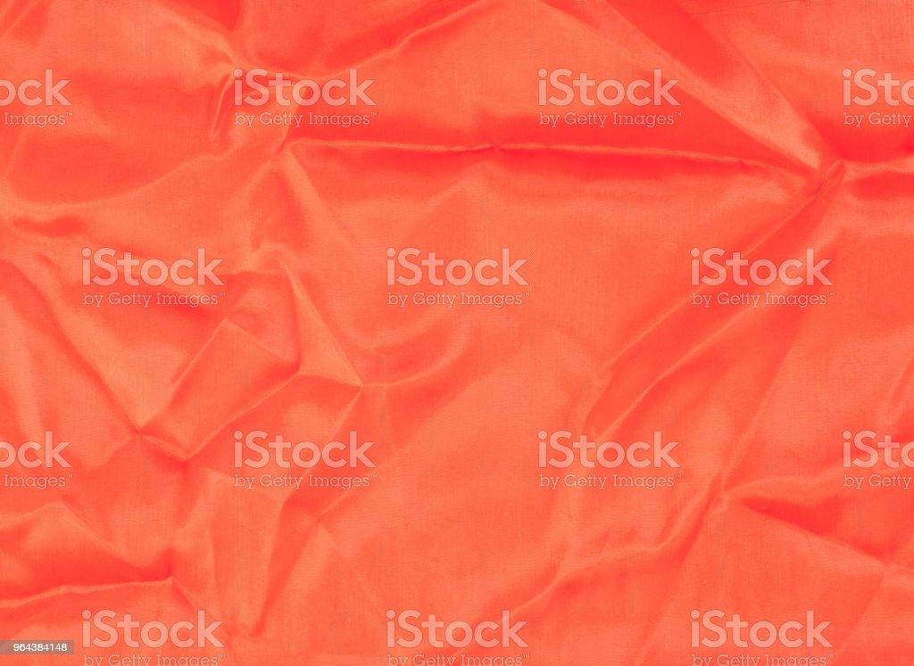 Tecido de seda vermelho tecture - Foto de stock de Cetim royalty-free