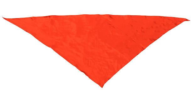 seda vermelha triangular lenço do pescoço - lenço do pescoço imagens e fotografias de stock