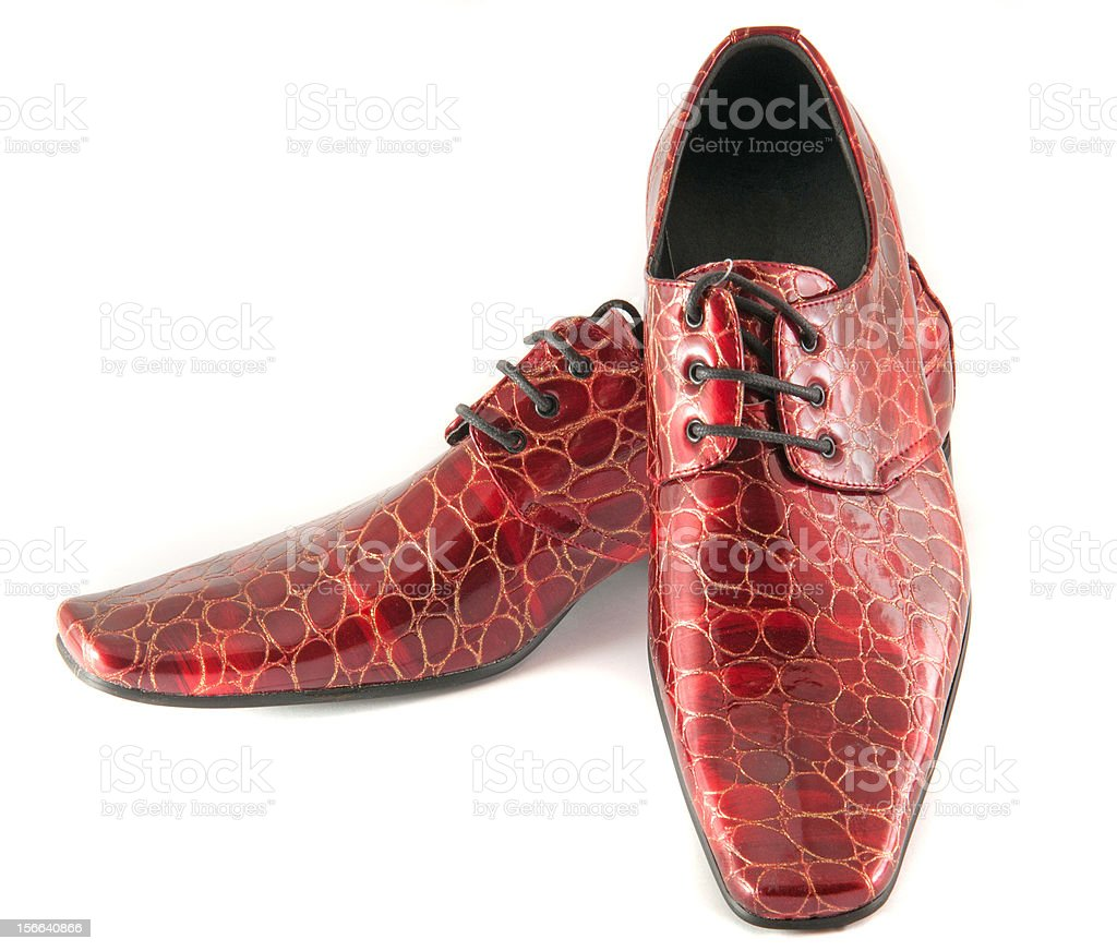 red skin shoes royalty-free stock photo