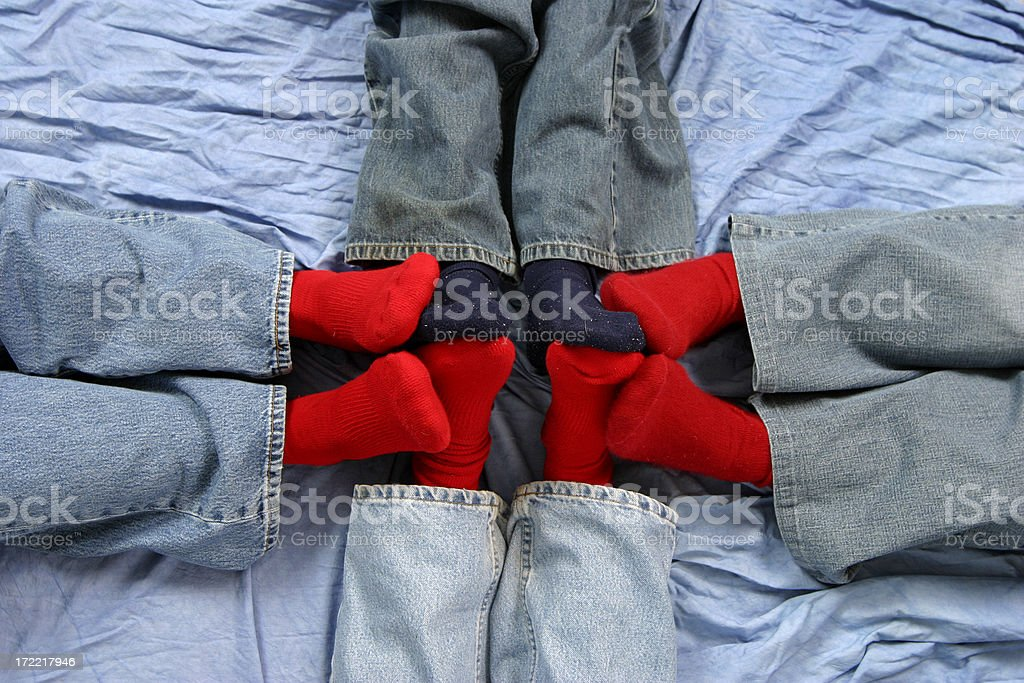 Red Socks 2 royalty-free stock photo