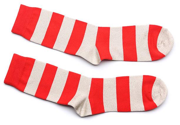 red socks stock photo