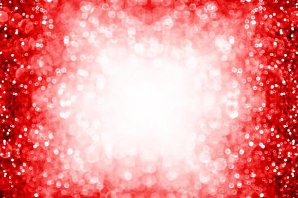 紅閃閃的背景邊框為生日, 新年, 耶誕節或情人節框架 - 情人節 節日 個照片及圖片檔