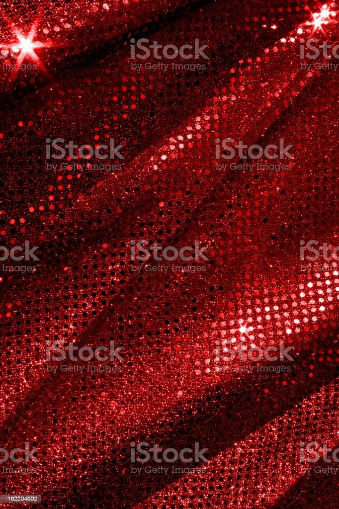 Red Sparkle Fabric Background - Royalty-free Abstract Stock Photo