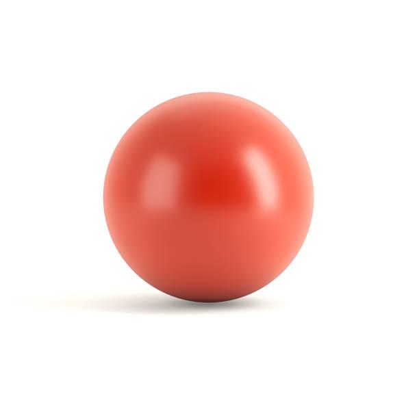 紅色球體 - 球狀體 個照片及圖片檔