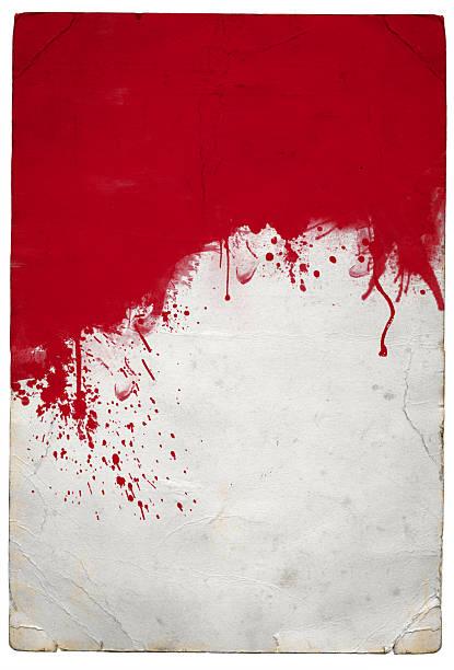 Red splat stock photo