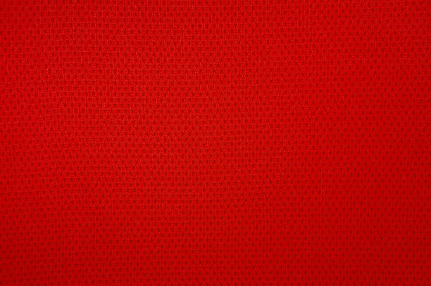 red sport mesh clothes - mesh textile stock photos and pictures