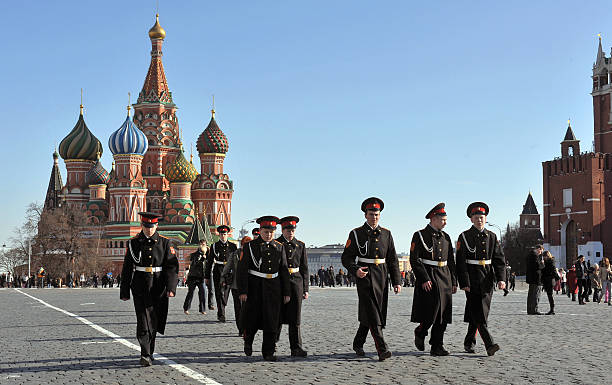 Red Square cadets