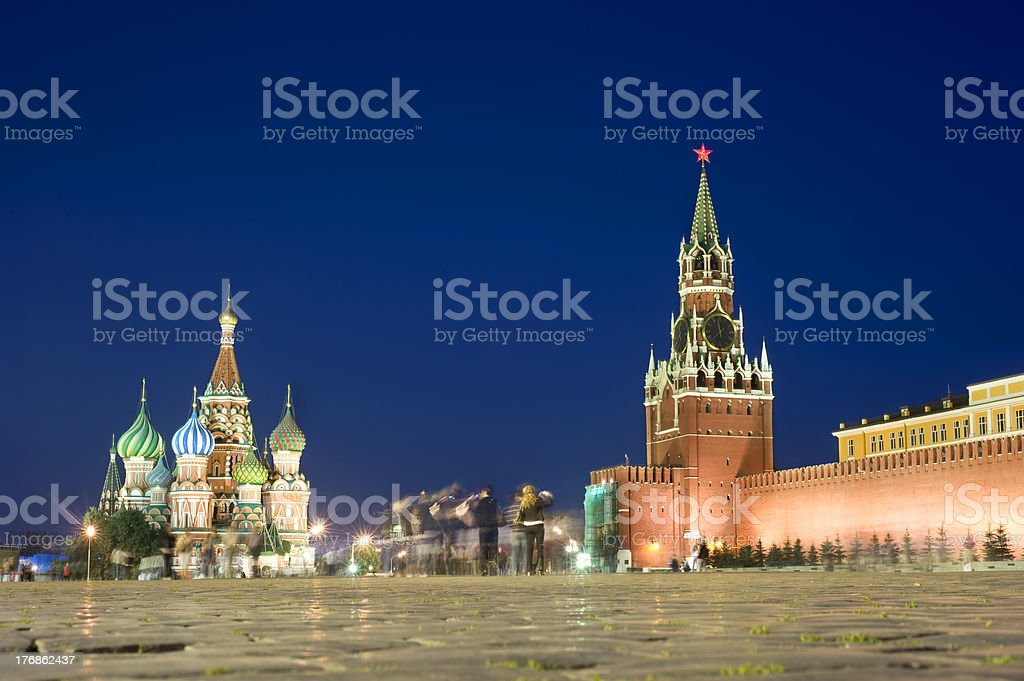 Red square royalty-free stock photo