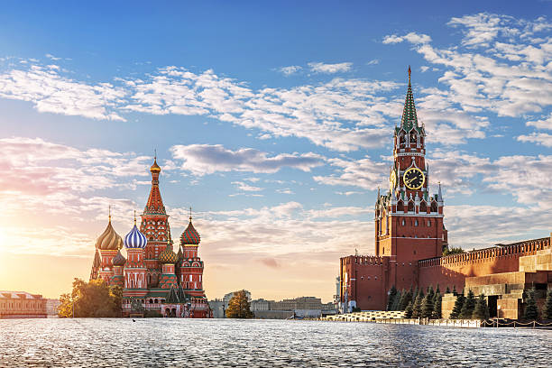 red square - russia stock pictures, royalty-free photos & images