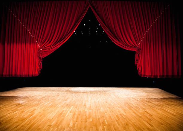 Red Bühne Vorhang – Foto