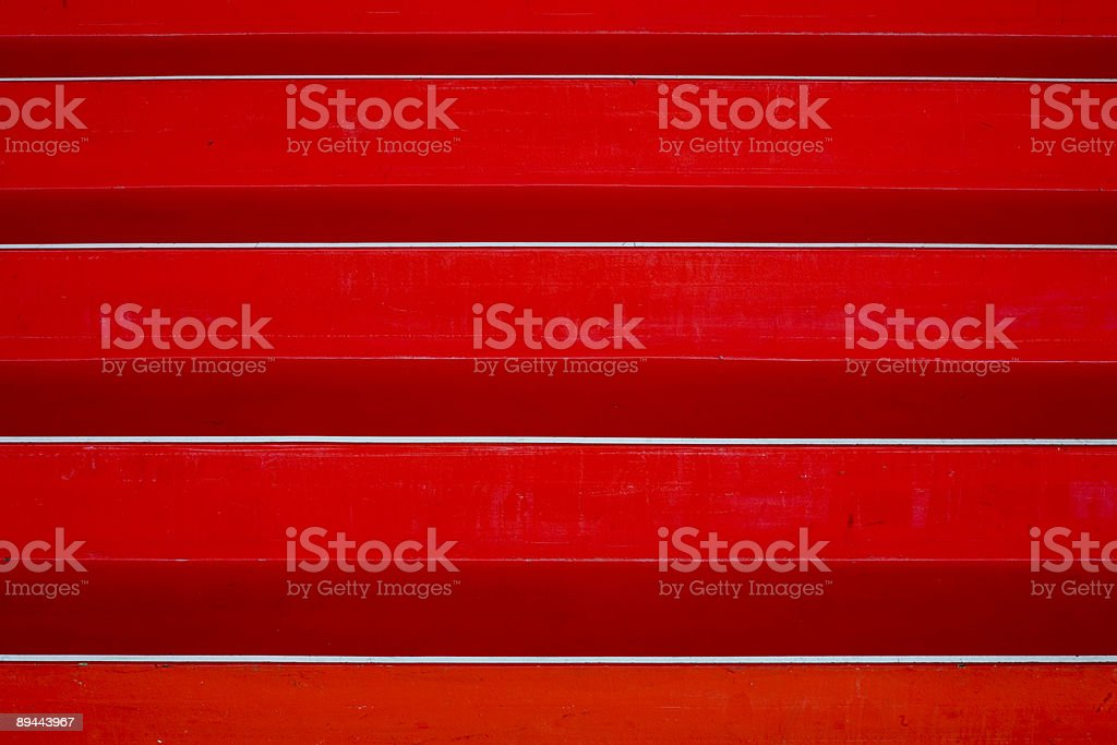 Red stairs abstract royalty-free stock photo