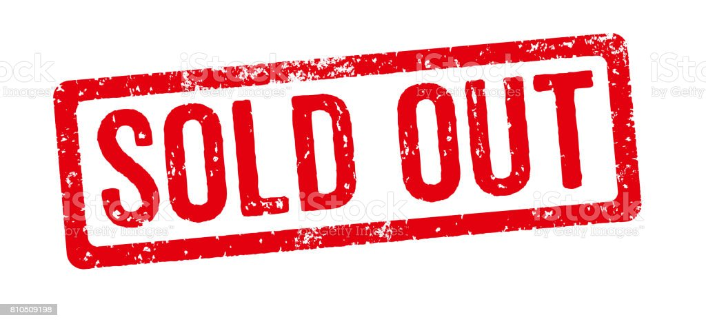 Red Stamp On A White Background Sold Out Stock Photo - Download Image Now -  iStock