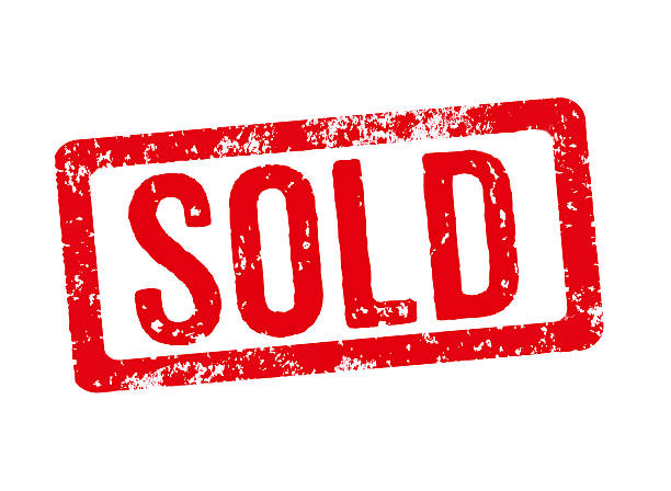 red stamp on a white background - sold - selling stock pictures, royalty-free photos & images