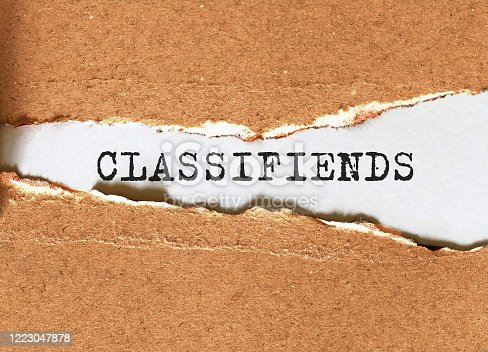 1070355804 istock photo 'CLASSIFIED' Red Stamp over a white background. 1223047878