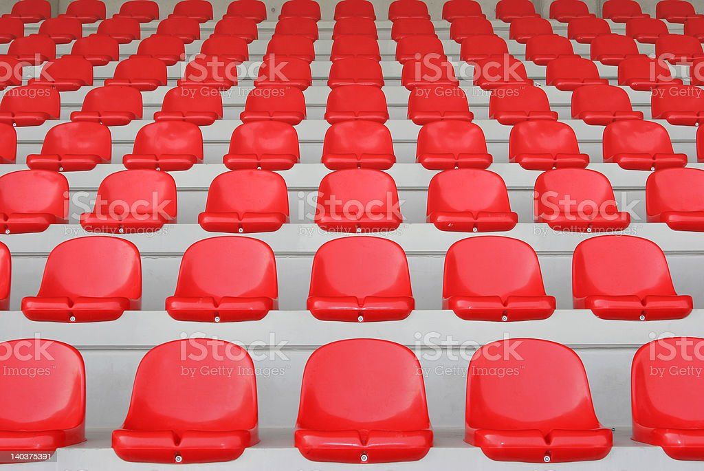 red stand royalty-free stock photo