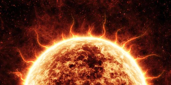 Solar Storm Attacks on the Internet