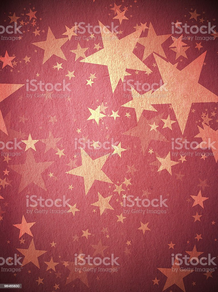 Red Star Background royalty-free stock photo