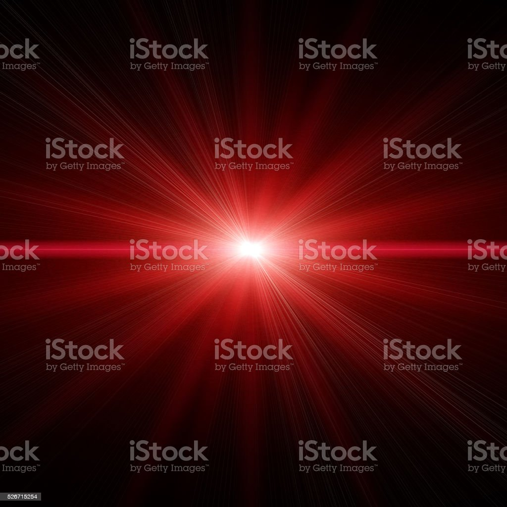 Red Star Light stock photo