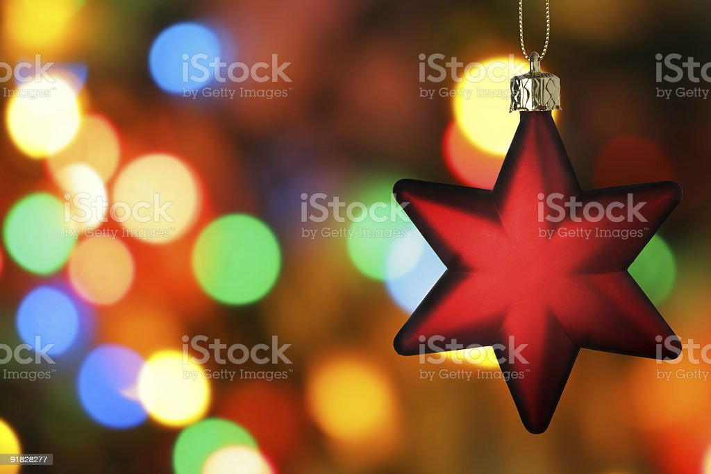Red star royalty-free stock photo