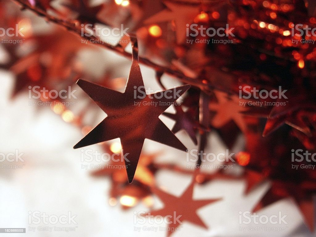 red stars royalty-free stock photo