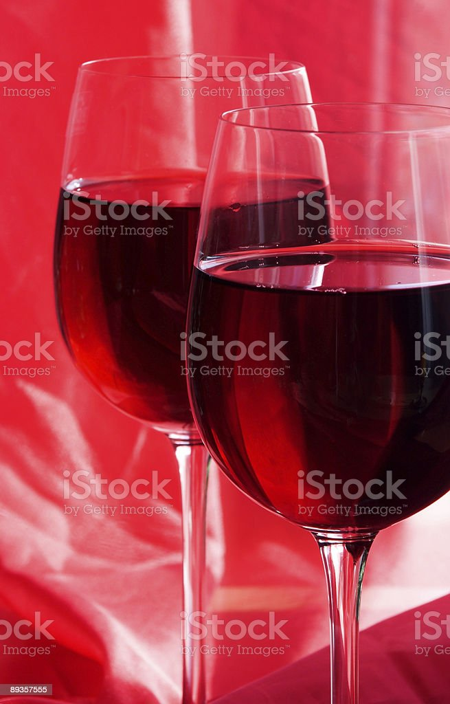 Red Still Life With Wine royalty free stockfoto