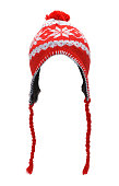 istock Red Stocking Hat Cut Out 1175312062