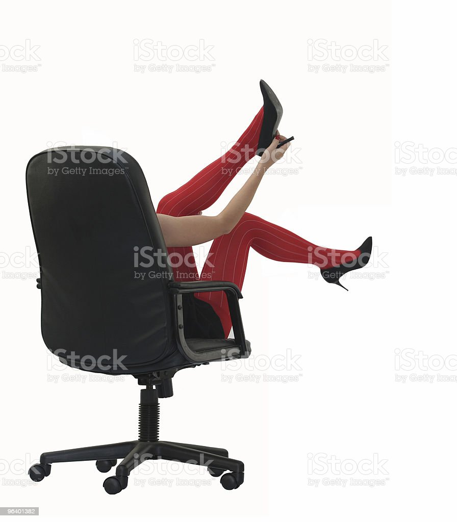 Red stockings - Royalty-free Animal Foot Stock Photo