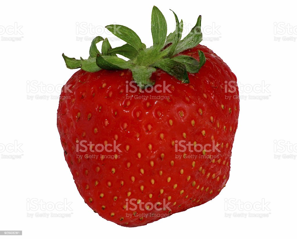 Red Strawberry royalty-free stock photo