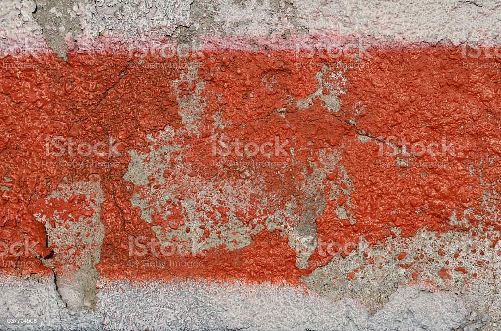 Red stripe stock photo