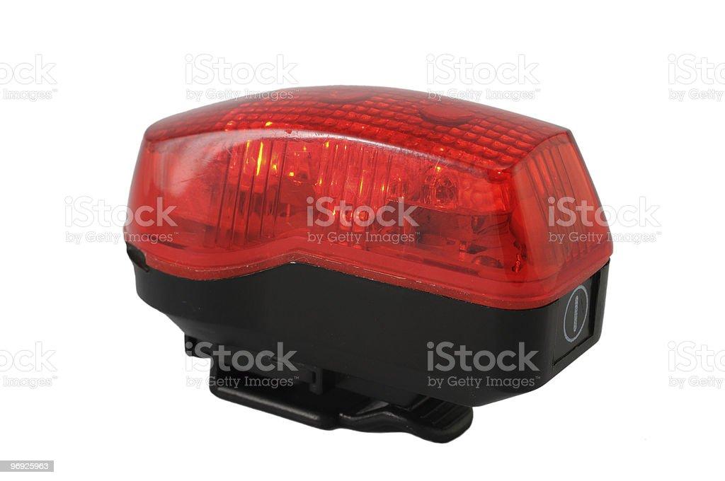 Red Strobe Light royalty-free stock photo