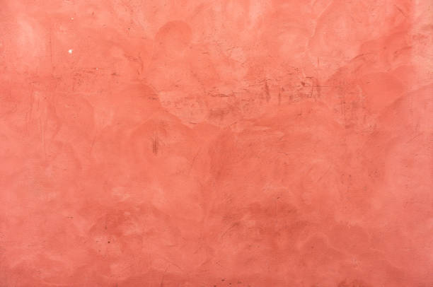 Texture de mur stuc rouge - Photo