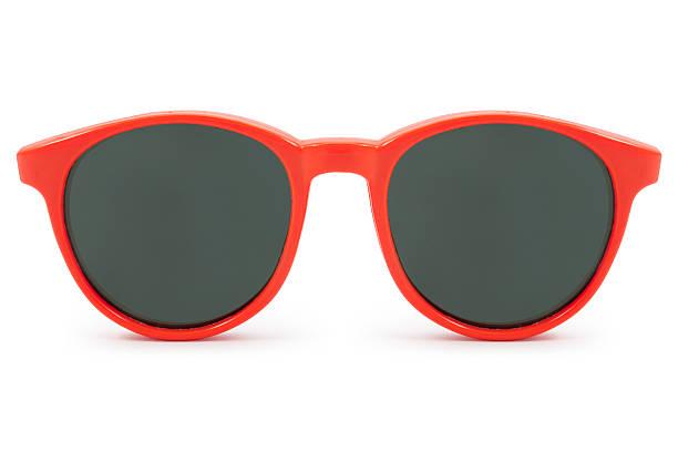 red óculos de sol - foto de acervo