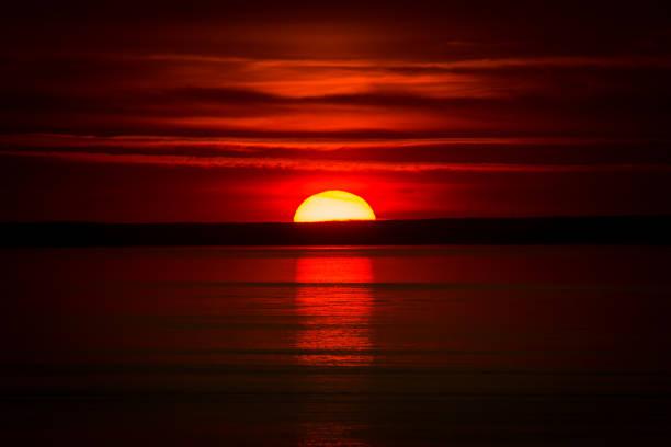 Abendrot am Baltischen Meer – Foto