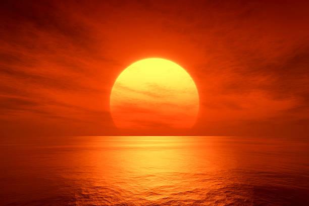 красный закат - sunset стоковые фото и изображения