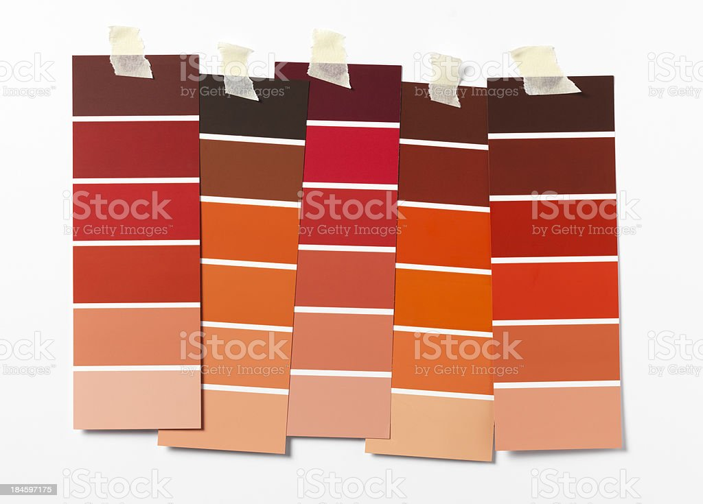 red swatch stock photo