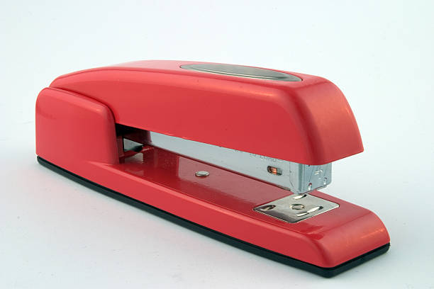 Red Swingline 2 Red Swingline stapler stapler stock pictures, royalty-free photos & images