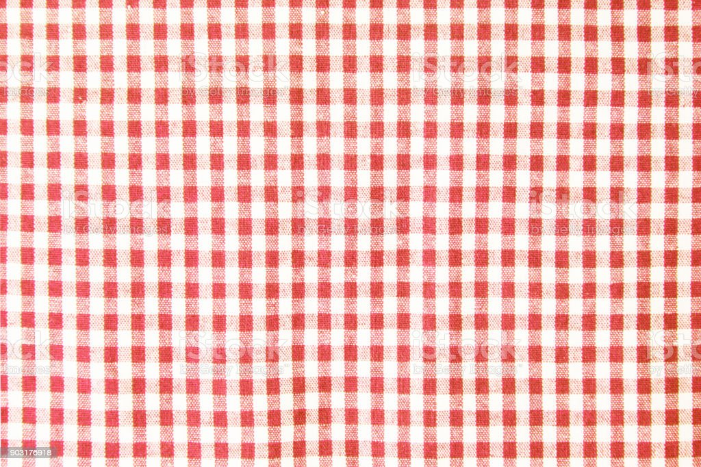 Red Table Cloth Texture Background, Tablecloth Top View Royalty Free Stock  Photo