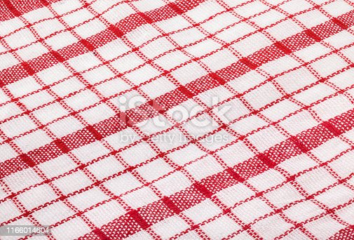 Red tablecloth background