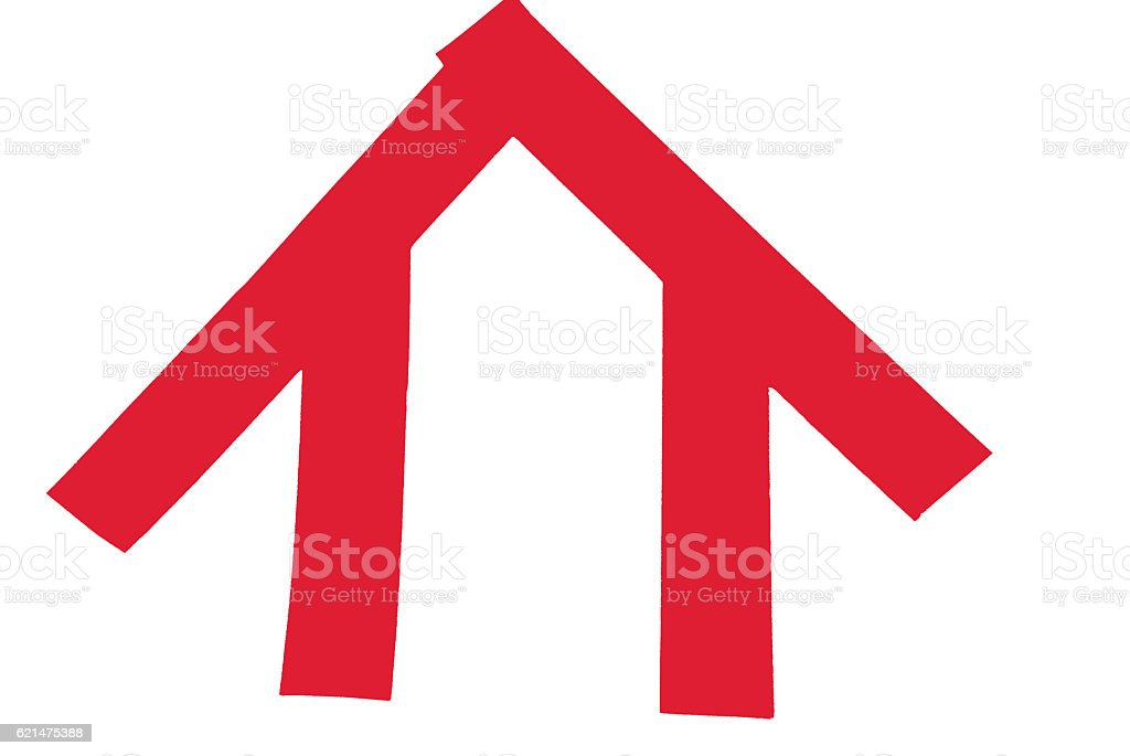 Red Tape House stock photo