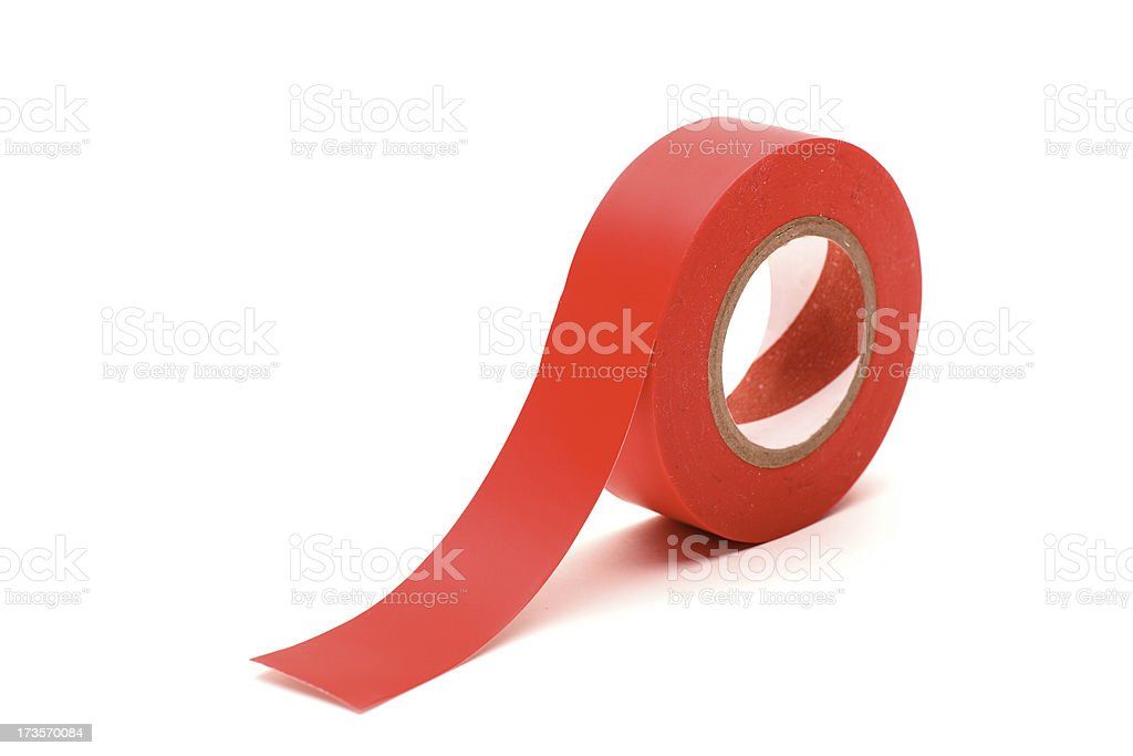 Red Tape royalty-free stock photo