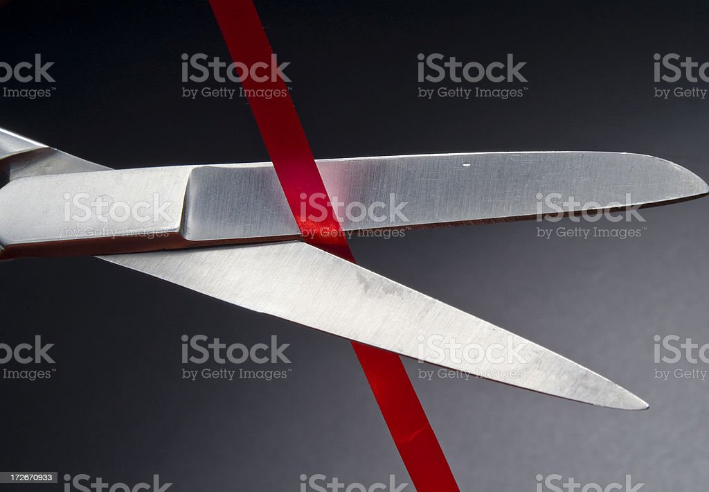 Red Tape Series royalty-free stock photo