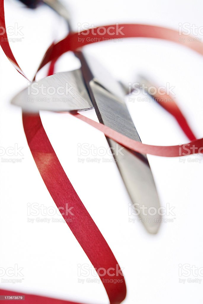 Red Tape Series stock photo